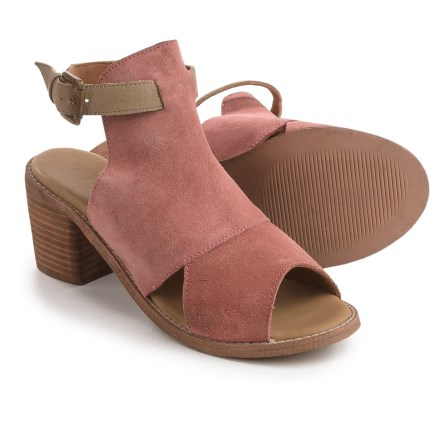 6c6068d65 Rebels Backless Sandals - Suede (For Women) in Paprika - Closeouts