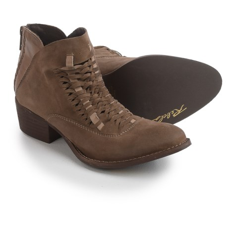 Rebels Cori Ankle Boots - Leather (For Women) in Dark Dust