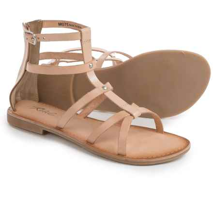Rebels Florence Gladiator Sandals - Leather (For Women) in Natural - Closeouts
