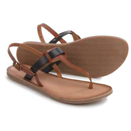 Rebels Joan Sandals - Leather (For Women) in Tan - Closeouts