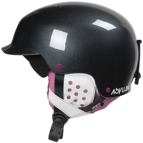 R.E.D. Asylum Snowsport Helmet (For Women) in Black Pearl