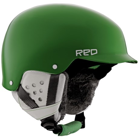 R.E.D. Asylum Snowsport Helmet (For Women) in Green
