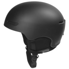 Red Avid Snowsport Helmet in Black - Closeouts