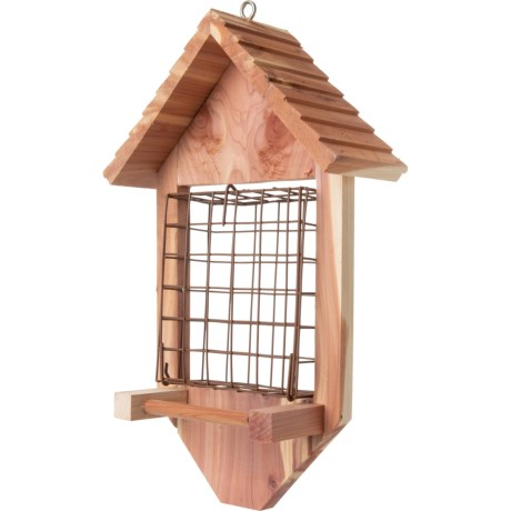 Red Cedar Suet Bird Feeder - 13.5? (696MH-99) photo