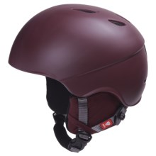 R.E.D. Hi-Fi Snowsport Helmet in Crimson - Closeouts
