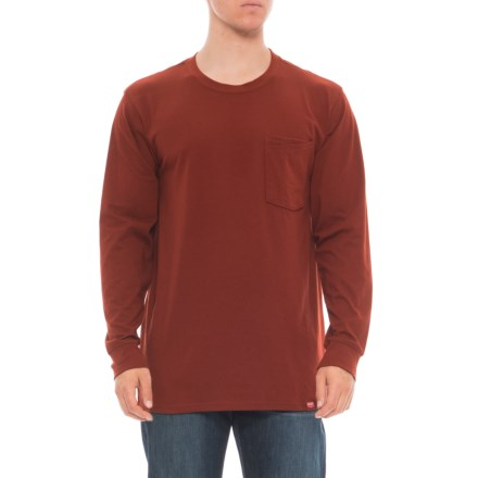 a4572beb31c Red Kap Double-Pocket T-Shirt - Long Sleeve (For Men) in