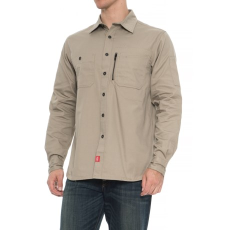 7e42c704187 Red Kap Ripstop MIMIX Work Shirt - Long Sleeve (For Men) in Sandstone. Tap  to expand