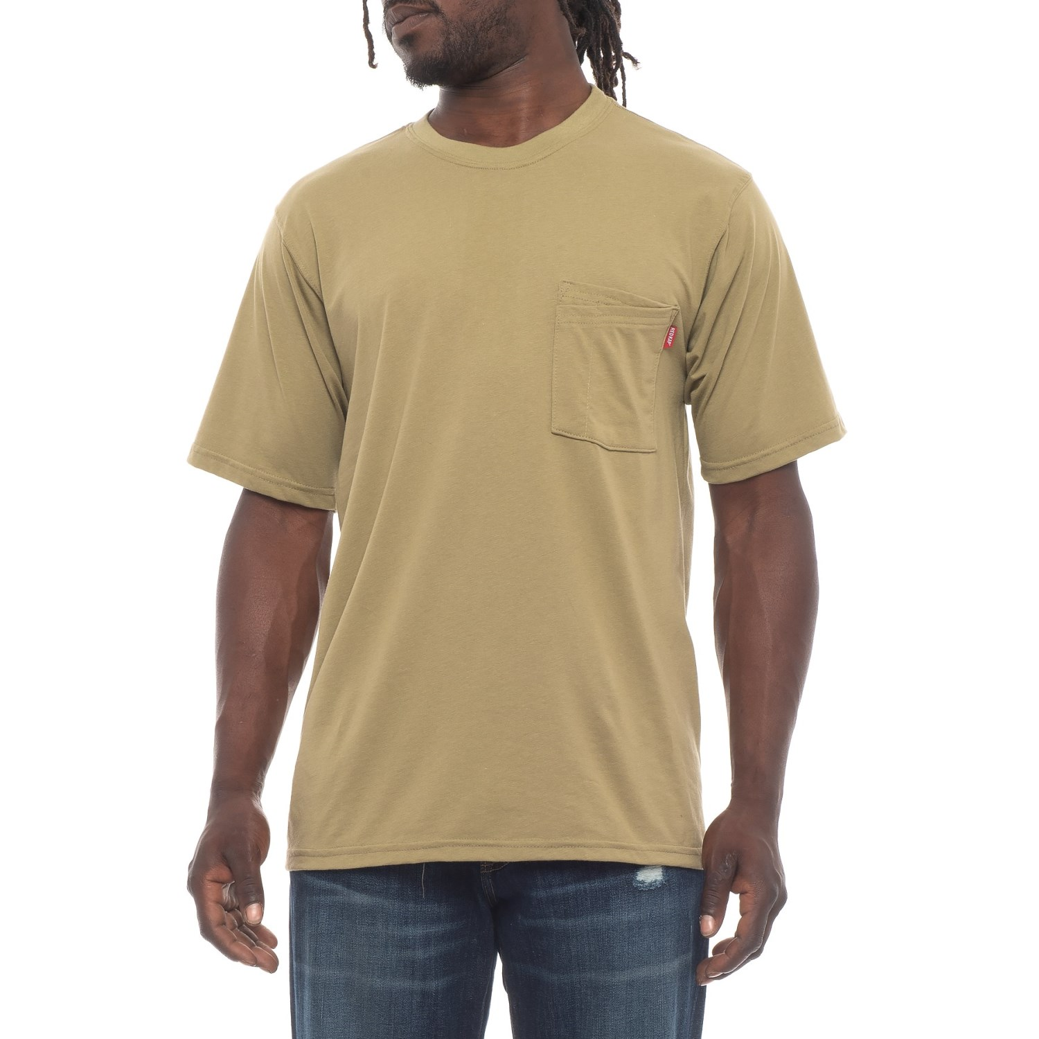 2dc9ccc66 Red Kap Solid Three-Way Pocket T-Shirt - Short Sleeve (For Men ...