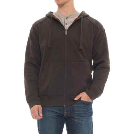 Red Kap Zip Hoodie (For Men) in Bark Brown - Closeouts