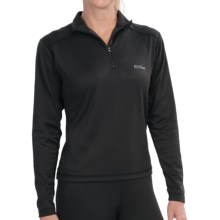 Red Ledge Edge Base Layer Top - Lightweight, Zip Neck, Long Sleeve (For Women) in Black - Closeouts