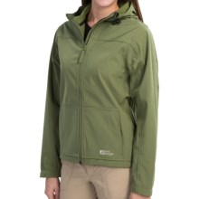 Red Ledge Gauntlet Hooded Soft Shell Jacket - Waterproof (For Women) in Field Green - Closeouts