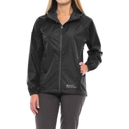 Red Ledge Stowlite Rain Jacket - Waterproof (For Women) in Black - Closeouts