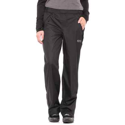 Red Ledge Stowlite Rain Pants - Waterproof (For Women) in Black - Closeouts