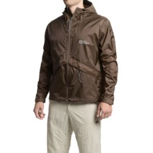 Red Ledge Thunderlight Jacket - Waterproof (For Men and Women) in Brown - Closeouts