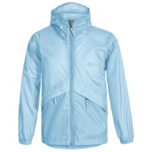 Red Ledge Thunderlight Rain Jacket (For Little and Big Kids) in Ice Blue - Closeouts