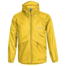 Red Ledge Thunderlight Rain Jacket (For Little and Big Kids) in Marine Yellow - Closeouts