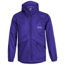 Red Ledge Thunderlight Rain Jacket (For Little and Big Kids) in Sapphire - Closeouts
