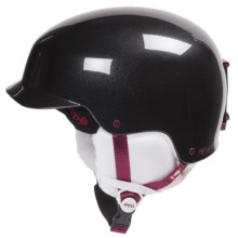 Red Mutiny Snowsport Helmet in Black Pearl - Closeouts