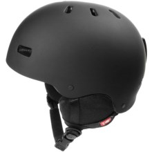R.E.D. Trace Snowsport Helmet in Black - Closeouts