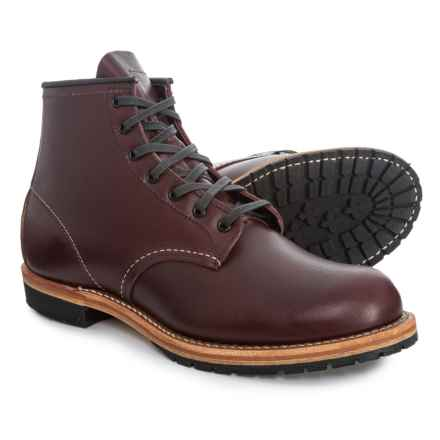 Red Wing 4579 Beckman Boots - Leather, Factory 2nds (For Men) in Black Cherry Fetherstone - 2nds