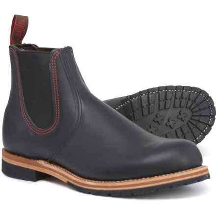 Red Wing Chelsea Rancher Boots - Leather, Factory 2nds (For Men) in Black
