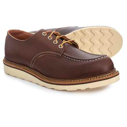 Red Wing Classic Oxford Shoes - Leather, Factory 2nds (For Men) in Mahogany Oro-Iginal