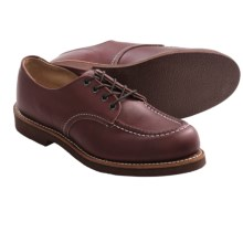 Red Wing Heritage 212 Moc Toe Oxford Shoes - Factory 2nds, Leather (For Men) in Oxblood - Closeouts