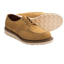 Red Wing Heritage 8105 Moc Toe Oxford Shoes - Factory 2nds (For Men) in Maize - Closeouts