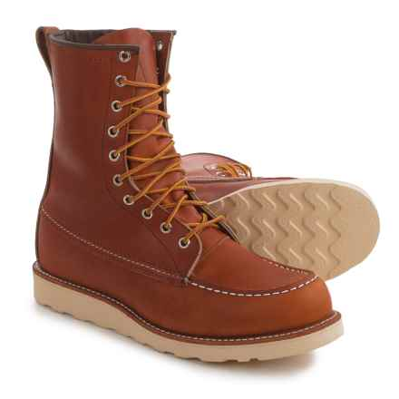 Red Wing Heritage 877 Classic Moc-Toe Boots - Factory 2nds (For Men) in Oro - 2nds