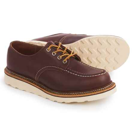 Red Wing Heritage Classic Oxford Shoes - Leather, Factory 2nds (For Men) in Mahogany - 2nds