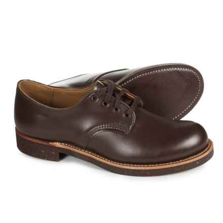 Red Wing Heritage Foreman Oxford Shoes - Leather, Factory Seconds (For Men) in Dark Brown - 2nds