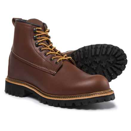 """Red Wing Heritage Ice Cutter Boots - Leather, 6"""", Factory Seconds (For Men) in Red Maple - 2nds"""