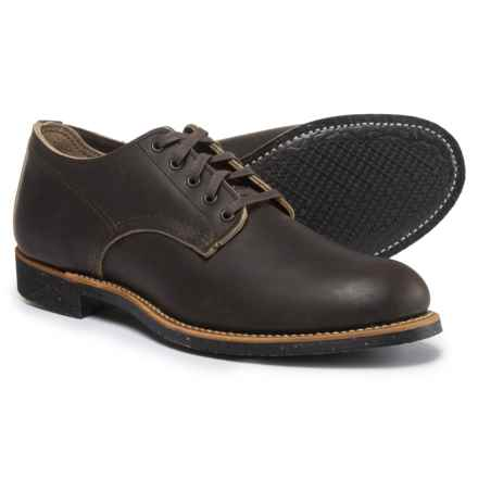Red Wing Heritage Merchant Oxford Shoes - Leather, Factory Seconds (For Men) in Ebony - 2nds