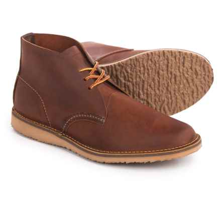 Red Wing Heritage Weekender Chukka Boots - Leather, Factory 2nds (For Men) in Copper - 2nds