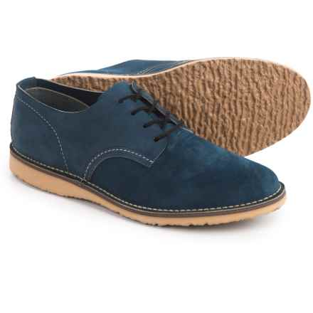 Red Wing Heritage Weekender Oxford Shoes- Leather, Factory 2nds (For Men) in Blueberry - 2nds