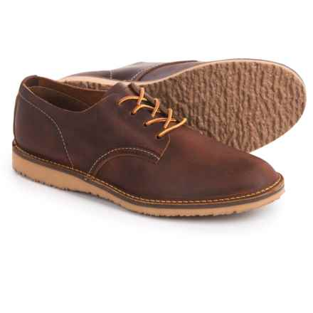 Red Wing Heritage Weekender Oxford Shoes- Leather, Factory 2nds (For Men) in Copper - 2nds