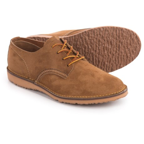 Red Wing Heritage Weekender Oxford Shoes- Leather, Factory 2nds (For Men) in Hawthorne