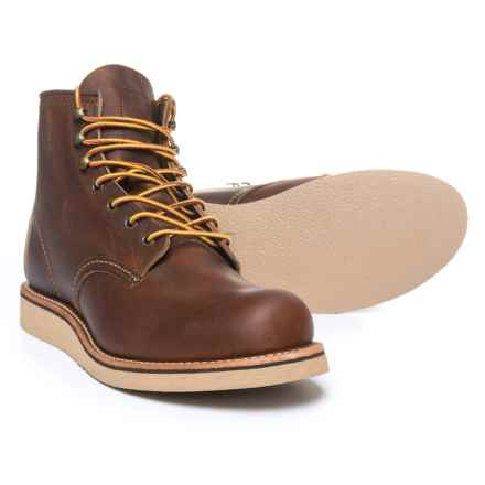 """Red Wing Rover 6"""" Boots - Leather, Factory 2nds (For Men) in Copper - 2nds"""