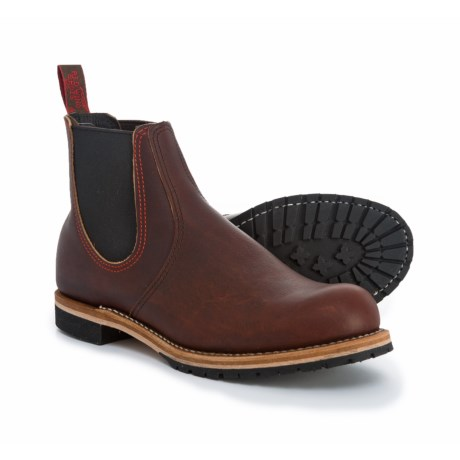 Red Wing Shoes 2917 Chelsea Rancher Boots - Factory 2nds (For Men) in Brown