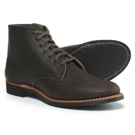"""Red Wing Shoes 8061 Merchant Leather Boots - 6"""", Factory 2nds (For Men) in Ebony - Closeouts"""