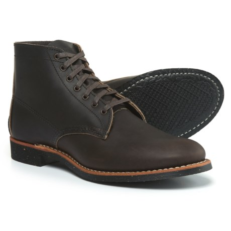 "Red Wing Shoes 8061 Merchant Leather Boots - 6"", Factory 2nds (For Men) in Ebony"
