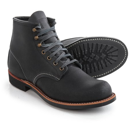 Red Wing Shoes Blacksmith Boots - Leather, Factory 2nds (For Men) in Black