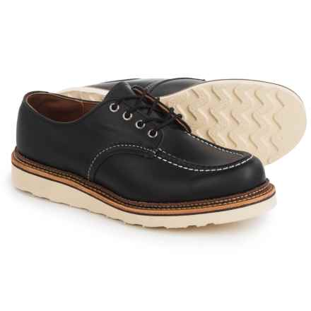 Red Wing Shoes Classic Oxford Shoes - Leather, Factory 2nds (For Men) in Black - 2nds