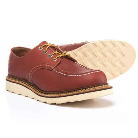 Red Wing Shoes Classic Oxford Shoes - Leather, Factory 2nds (For Men) in Oro Russet - 2nds
