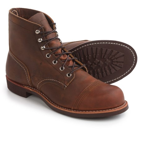Red Wing Shoes Iron Ranger Cap-Toe Boots - Leather, Factory 2nds (For Men)