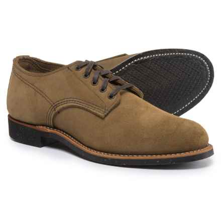 Red Wing Shoes Merchant Oxford Shoes - Leather, Factory Seconds (For Men) in Olive - 2nds