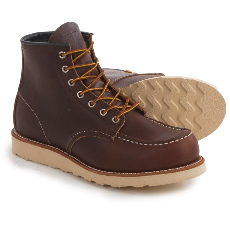 Red Wing Shoes Moc-Toe Boots - Leather, Factory 2nds (For Men)