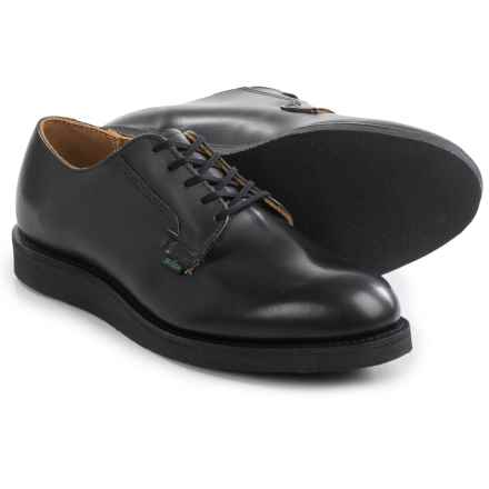 Red Wing Shoes Red Wing Heritage 101 Postman Oxford Shoes - Leather, Factory 2nds (For Men) in Black - 2nds