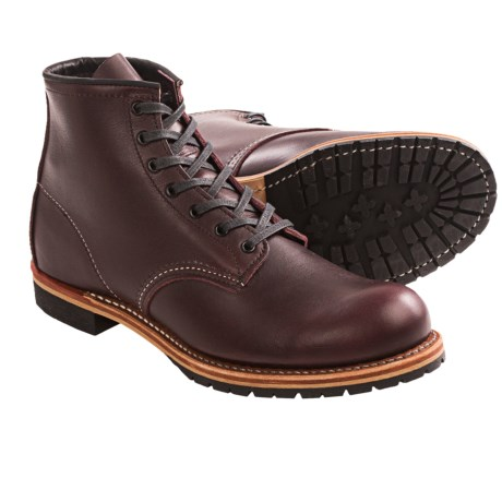 Red Wing Shoes Red Wing Heritage 9011 Beckman Boots - Leather, Factory 2nds (For Men) in Black Cherry