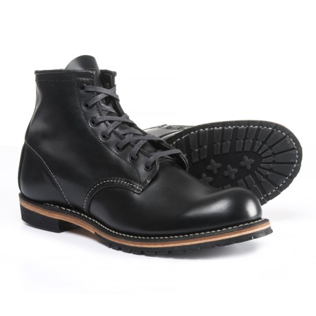 Red Wing Shoes Red Wing Heritage 9011 Beckman Boots - Leather, Factory 2nds (For Men) in Black